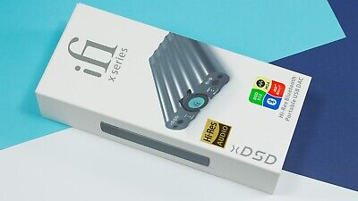iFi xDSD Portable DAC and Headphone Amplifier with Bluetooth