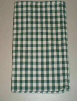 Waverly Balloon Valance Green White Check Woven Cotton Country Farmhouse 7 avail