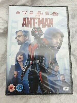 Ant Man with Paul Rudd New & Sealed (DVD  2015)
