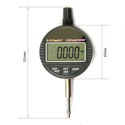 0.001mm 0-12.7 Digital Dial Indicator DTI High Precision Measuring Tools 401033