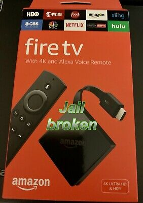 Genuine Amazon Fire TV 4K Ultra HD With Alexa Voice Remote Free Everything