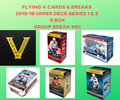 2016-19 Upper Deck Hockey Series 1 & 2 Group Break(5 Boxes, Random Team)