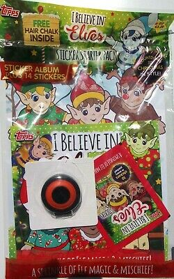 TOPPS I BELIEVE IN ELVES STARTER PACK WITH 14 STICKERS
