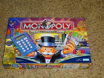 Rare Monopoly Australian electronic banking Parker Brothers Board Game Hasbro