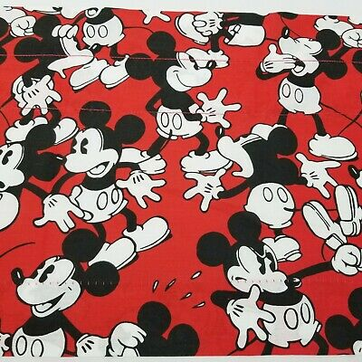 Lined Valance 42x15 Disney Classic Mickey Mouse Through The Years Cartoon Window Treatments Hardware Garden Curtains