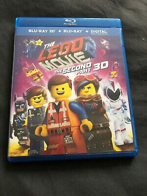 The Lego Movie 2 The Second Part (2D Blu-ray and Digital Copy Only 2019)