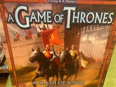 Game of Thrones EXPANSION a Clash of Kings Board Game - NEW SEALED