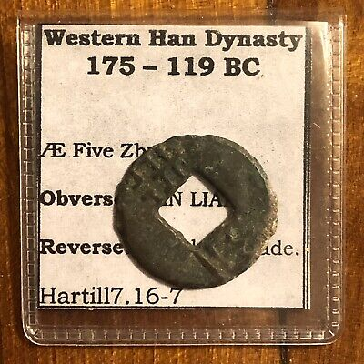Western Han Dynasty 175-119 BC Ancient Chinese Style Brass Or Bronze Coin Asian