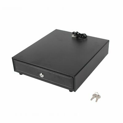 Electronic Cash Drawer Manual Cash Register POS Tray 5 Bill 5 Coins Money Box E