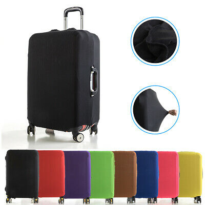 Elastic Polyester Anti Scratch Luggage Suitcase Protector Cover Suitcase Case US