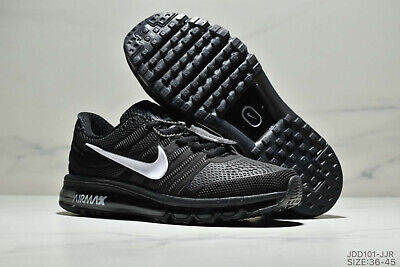 NIKE AIR MAX 2017 MEN'S RUNNING SHOES(WHITE/BLACK) Size 7-13 New In Box MOVEMENT
