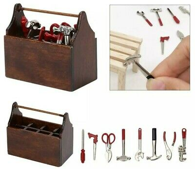 Add to Coles Little Shop 2 Mini Collectables - Mini Tool Box 1:12th Miniature