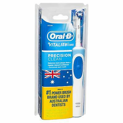 Oral-B Vitality Precision Clean  Rechargeable Electric Toothbrush w/ 2 Refills