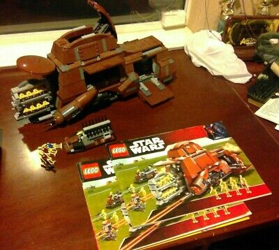 LEGO STAR WARS Trade Federation MTT (7662) - Used 95% complete w/  instructions