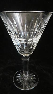 "WATERFORD DEEP CUT CRYSTAL Pattern ""Glenmore"" 1 WINE / WATER Glass Pristine"
