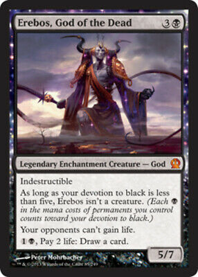 1 x MTG Erebos, God of the Dead Theros - Moderatly Played, English