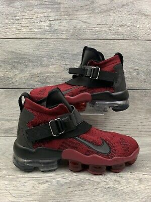 Nike Air Vapormax Premier Flyknot Mens Size 7.5 Team Red Black AO3241-600