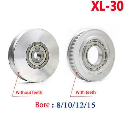XL-30T Synchronous Tension Wheel Bore 8mm-15mm for 11mm Width Timing Belt Pulley
