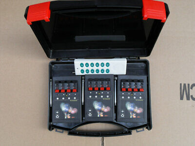150m distance remote 12 cues fireworks firing system-connect wire Digital switch