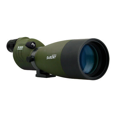 SVBONY SV17 25-75x70mm FMC Metal Straight Spotting Scopes For Target Shooting AU