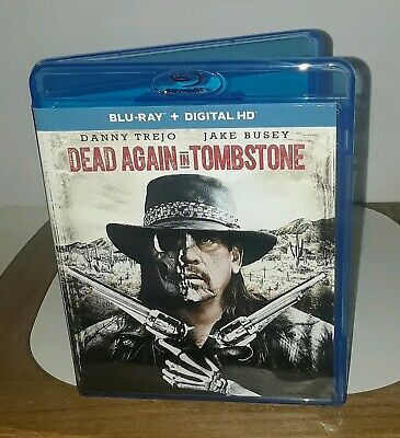 Dead Again In Tombstone (Blu-ray Disc, 2017) No Digital Copy Included