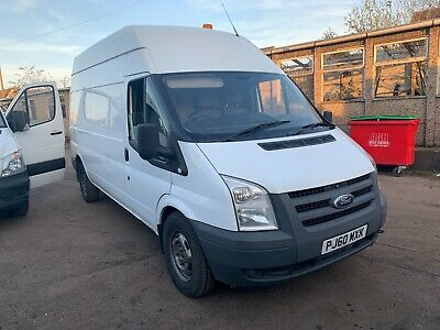 2011 Ford Transit 2.4 6 Speed 115 T350 L High Roof Rwd White 12 Month Mot