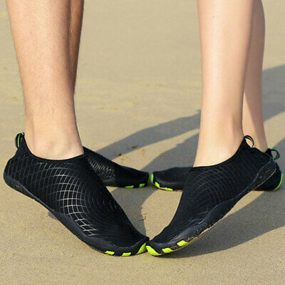 7e6202a09ec Men Women Water Shoes Aqua Shoes Beach Kids Sea Wet Shoes Swimming Surf  Shoes UK