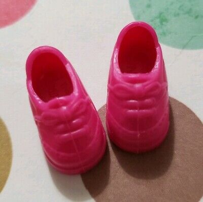 Barbie Doll Shoes Kelly Club Lil Friends Pink Tennis Shoes Sneakers Athletic