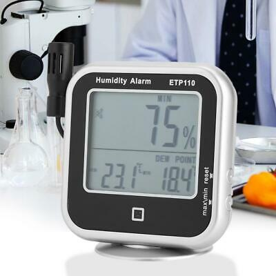 ETP110 Digital Thermo-Hygrometer Thermometer Humidity Dew Point Meter - 10℃~ 60℃