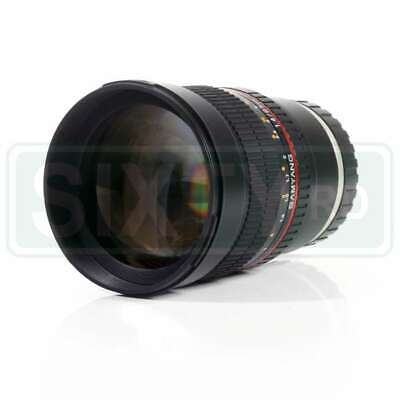 Genuino Samyang 85mm f/1.4 Aspherical IF Lens for Sony E-mount