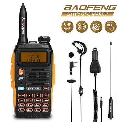BAOFENG GT-3 MARKII Dual Band VHF/UHF 2M/70CM Ham FM Two-way