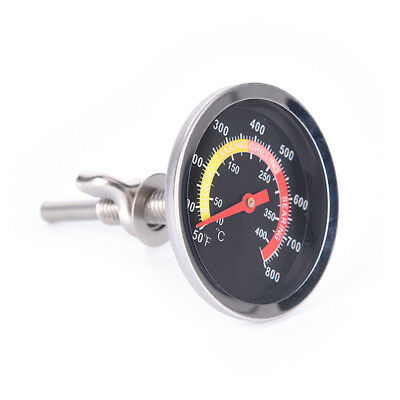 Outdoor Cooking & Eating 50-400℃ Barbecue Thermometer Gauge Stainless Bbq Smoker Grill Temperature Soloop Convenient To Cook Home & Garden