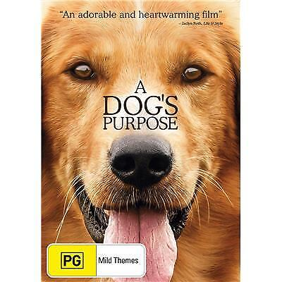 A Dog's Purpose DVD 2017 PG / All Movies $7.50 + Free Postage