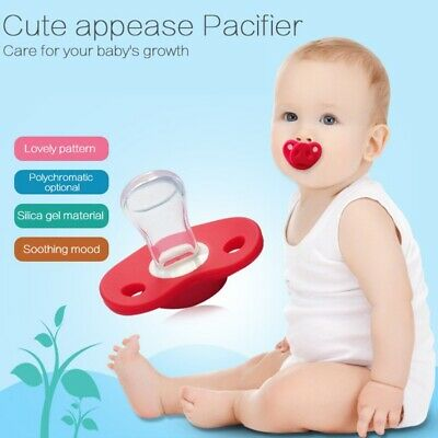 Funny Dummy Baby Toddler Pig Nose Pacifier Teether Child Lip Soother Nipple US