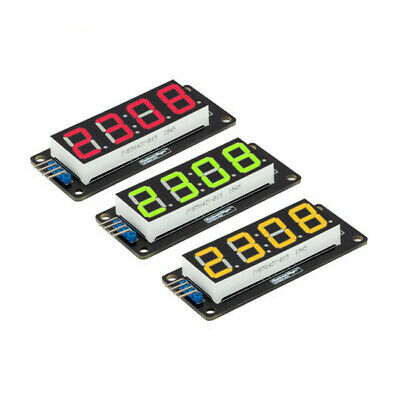 """D4056A 0.56/"""" LED 4-Digit Tube Anzeigen Module with Time Clock AIP"""
