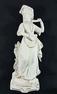 Statuettes, Biscuit,  Porcelaine De Paris, Porcelain Paris