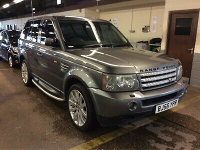 56 Range Rover Sport 4.2 Supercharged V8 Hse-Sunroof, 10 Stamps, Leather, Alloys