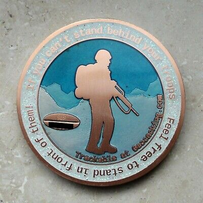 Geocoin Support GER Troops unaktiviert trackable Lost Places 4 The Kingz XLE 80
