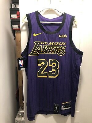 wholesale dealer c9461 0eca9 LEBRON JAMES AUTHENTIC Nike City Edition Jersey NWT. With ...