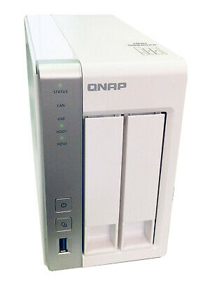 QNAP TS-231P/6TB-RED 2-BAY 6TB(2x3TB WD Red) NAS Centralizes file storage