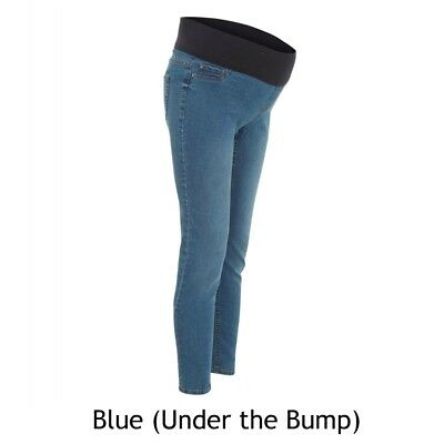 d9b305b516bd85 Maternity New Look Blue Jeggings Jeans Under Bump Sizes 8 - 18 (BM45)