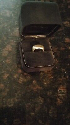 Tiffany & Co. Sterling Silver Size 5 Square Cushion Band ring