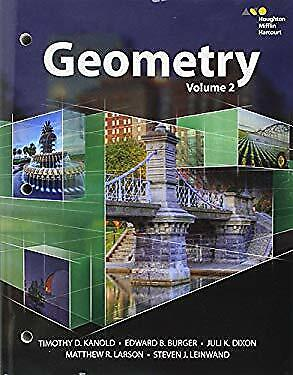 HMH Geometry: Interactive Student Edition Volume 2 2015-ExLibrary