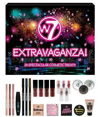 W7 Extravaganza Advent Calendar - Christmas Gifts Decorations Girly Makeup