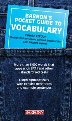 Pocket Guide to Vocabulary by Green, Sharon Weiner
