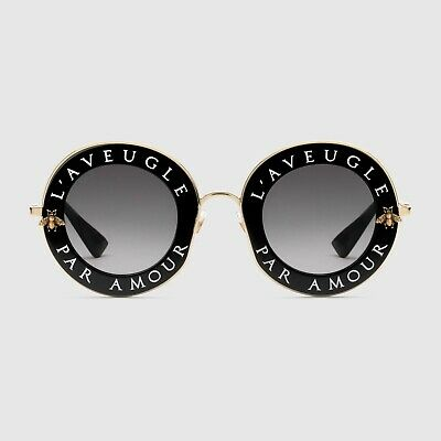 3ff5d50ef9 SUNGLASSES GUCCI ROUND-FRAME Acetate With Star Gg0208S 003 ...