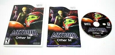 Metroid: Other M (Nintendo Wii, 2010) Complete *Clean CD* Free Shipping