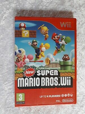 Nintendo Wii New Super Mario Bros Wii