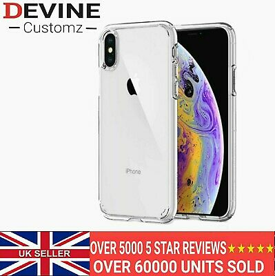 For iPhone X XS XR XS Max Clear Silicone Case Cover Shockproof Slim