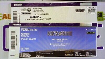Rock am Ring Weekend Ticket 2019